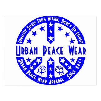 Urban Peace Wear Postcard