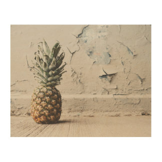 Urban Pineapple Wood Canvases