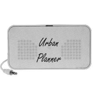 Urban Planner Artistic Job Design Speaker System