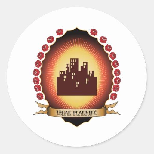 Urban Planning Mandorla Sticker