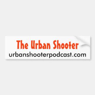 Urban Shooter bumpersticker 2 Bumper Sticker
