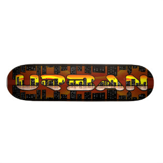 urban skate skateboard deck