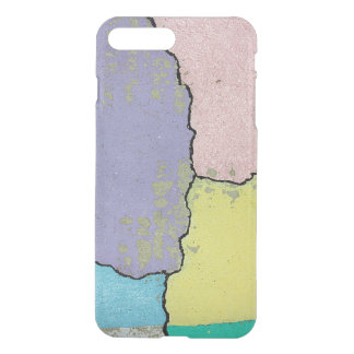 Urban Street Art in Pastels on Cracked Cement iPhone 7 Plus Case