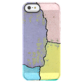 Urban Street Art in Pastels on Cracked Cement Permafrost® iPhone SE/5/5s Case