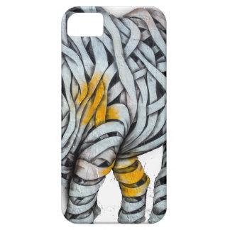 Urban Street Art: Ribbon Rhinoceros iPhone 5 Covers