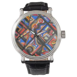 Urban Street One-Abstract Art Geometric Watch