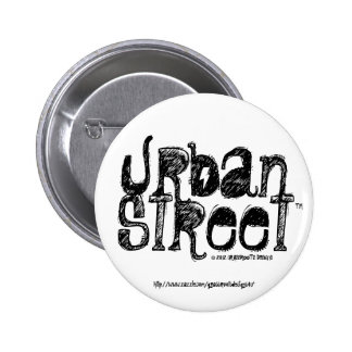 Urban Street Wear by Grassrootsdesigns4u Pinback Button