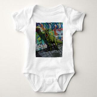 Urban T-Rex Baby Bodysuit