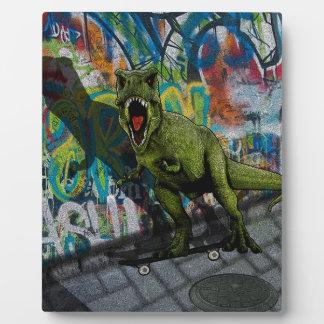 Urban T-Rex Display Plaques