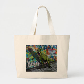Urban T-Rex Large Tote Bag