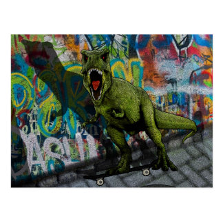 Urban T-Rex Postcard