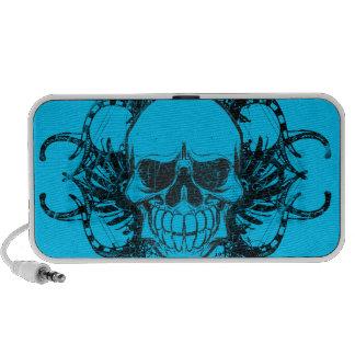 Urban tribal skull mini speaker