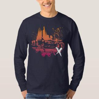 urban turbo_x magenta/orange T-Shirt