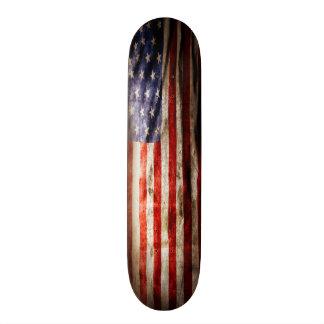 Urban USA Grunge Flag Element Custom Pro Board Custom Skateboard