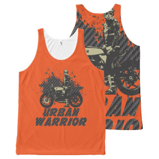 Urban Warrior All-Over Print Tank Top