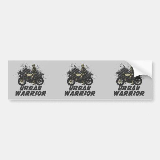 Urban Warrior Bumper Sticker