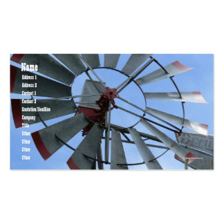Urban Windmill Pack Of Standard Business Cards