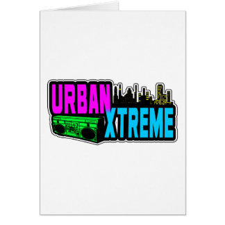 URBAN XTREME GREETING CARDS