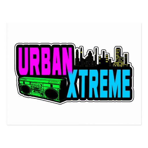 URBAN XTREME POST CARDS