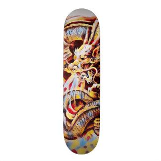 Urban Yakuza Dragon Graffiti Element Pro Board 20 Cm Skateboard Deck