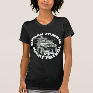 Urban zombie night patrol 2 tee shirts