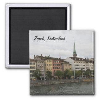 Urban Zurich Switzerland City View Photo Magnet