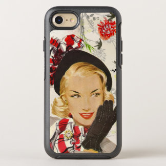 Urbane 1950's Lady OtterBox Symmetry iPhone 7 Case