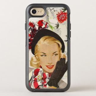 Urbane 1950's Lady OtterBox Symmetry iPhone 8/7 Case