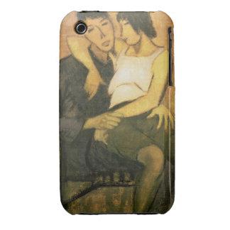 Urbanite Couple, 1920 (oil on canvas) iPhone 3 Cases