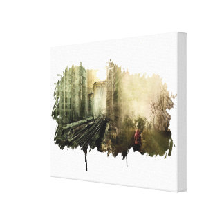 Urbanization vs Everything Else Canvas Print