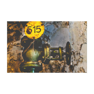 Urbex 515 color high contrast canvas print