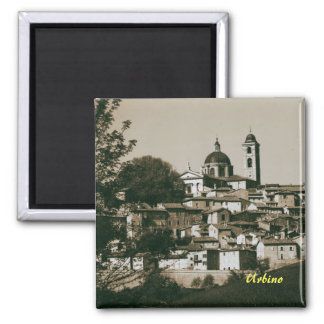 Urbino is a walled city in the Marche region Square Magnet