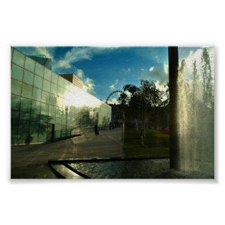 urbis centre Manchester City Theme Poster