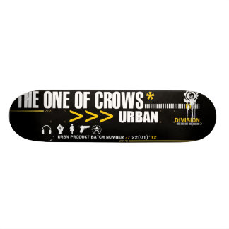 URBN-Division by TheOneOfCrows Skateboard Deck