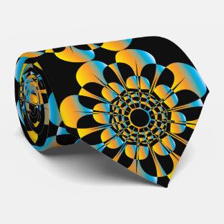 UrbnCape retro flower designer tie