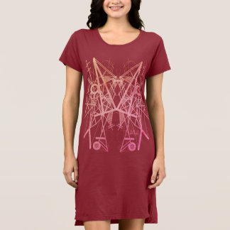 UrbnCape Saffa Abroad designer geometric dress