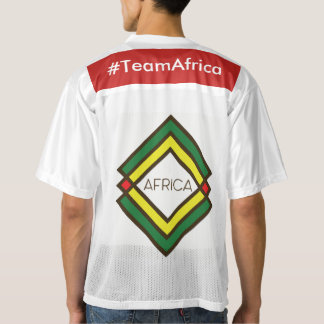 UrbnCape #TeamAfrica football shirt