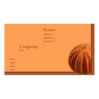 Urchin Business Cards