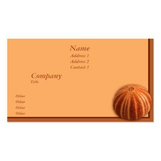 Urchin Business Card Template