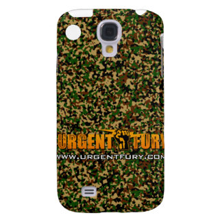 Urgent Fury Camo IPhone 3G case Samsung Galaxy S4 Cases