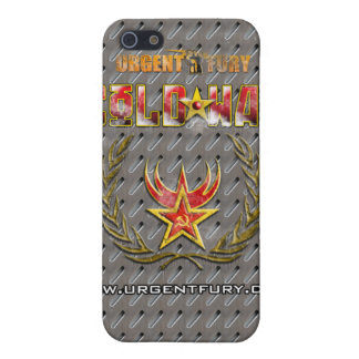 Urgent Fury Cold War Metal Style IPhone Case iPhone 5 Case