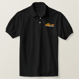Urgent Fury Logo with Globe Embroidered Polo Shirt