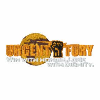 Urgent Fury Logo with Globe Embroidered Shirt