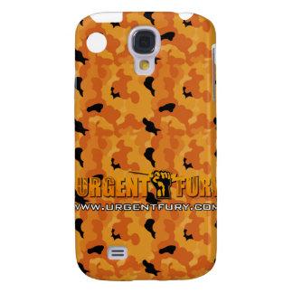 Urgent Fury Orange Camo IPhone 3G case Samsung Galaxy S4 Cases
