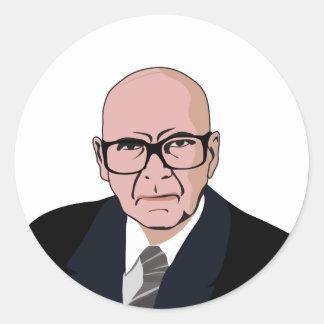 Urho Kaleva Kekkonen Classic Round Sticker