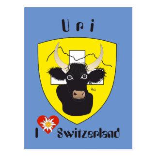 Uri Switzerland Suisse Svizzera Svizra postcard