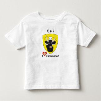 Uri Switzerland Suisse Svizzera Svizra Switzerland Toddler T-Shirt