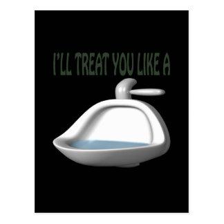 Urinal Postcard