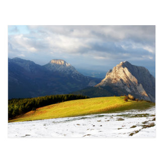 Urkiola mountains in Basque Country Postcard