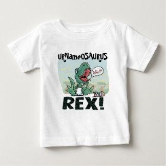 URNameOSURUS Rex by Mudge Studios Baby T-Shirt